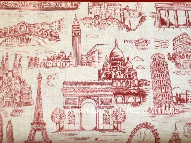 Eiffel Tower Amp Paris Theme Cotton Quilting Fabrics